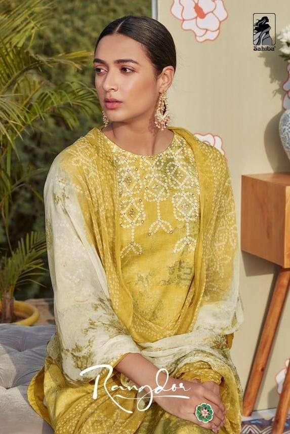 Rangdor By Sahiba Rich Look Designer Dresses For Women
