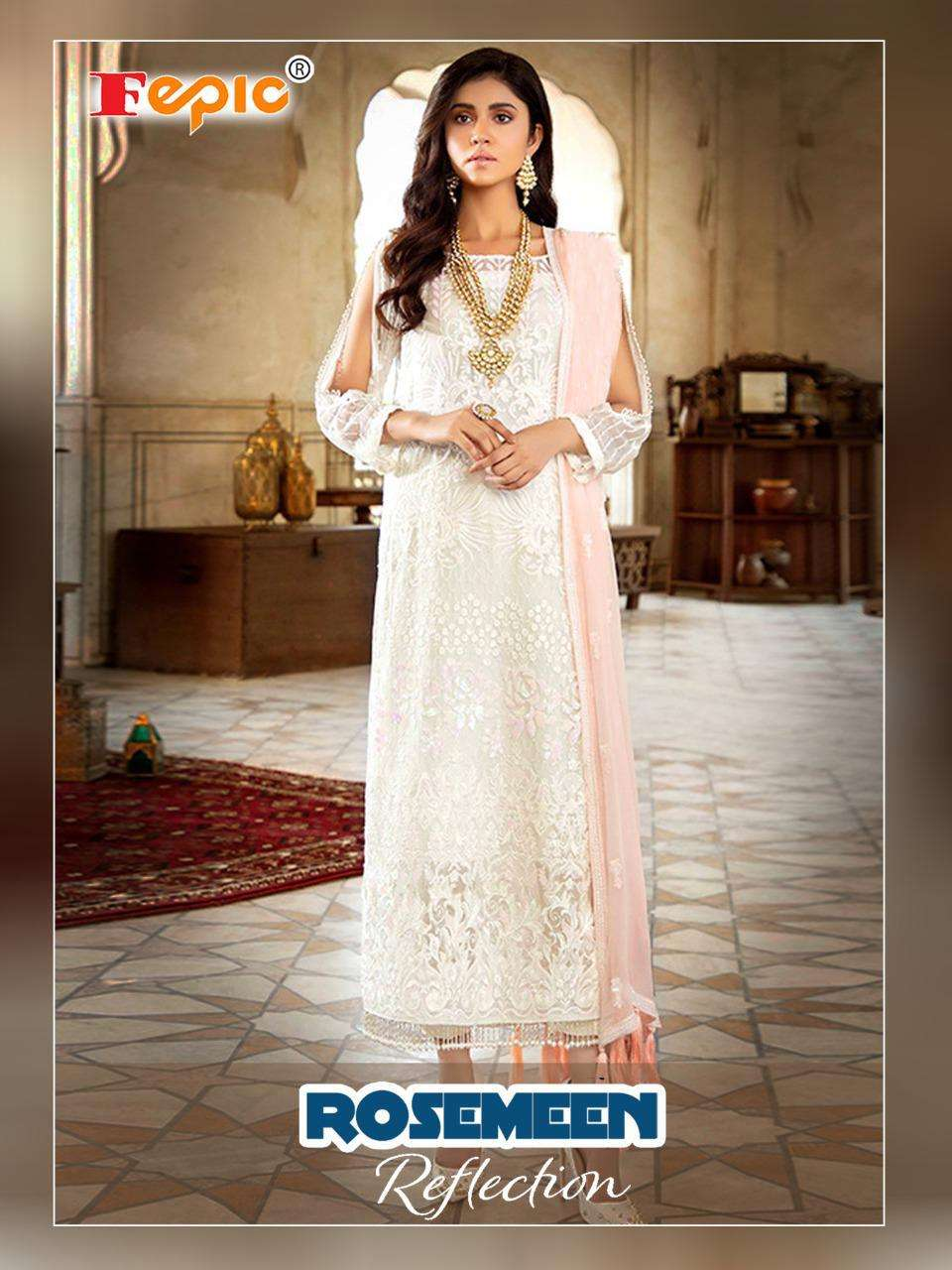Reflection 84001 By Fepic Georgette Pakistani Fancy Suits