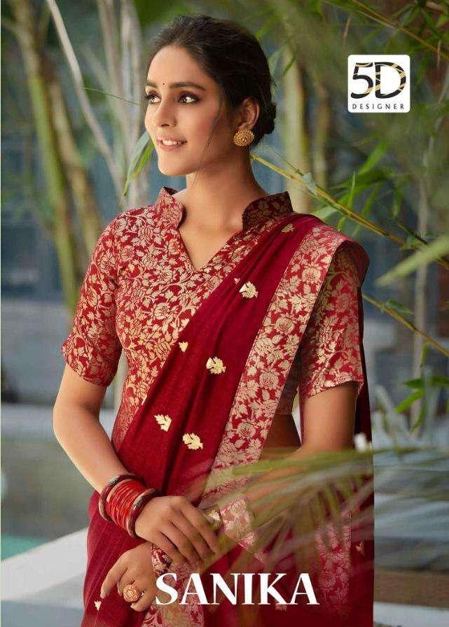 Right Women Sanika Casual Wear Vichitra Silk Saree