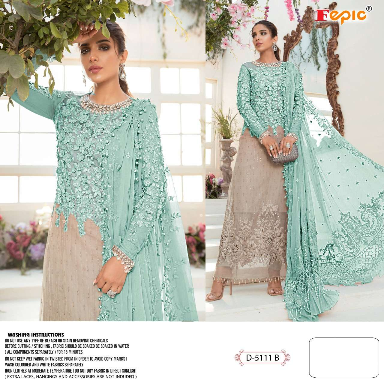 Rosemeen D 5111 By Fepic Pakistani Designer Suits