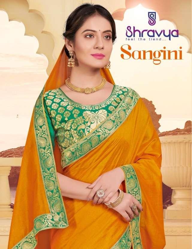 Sangini By Shravya Silk Casual Wear Saree Wholesaler