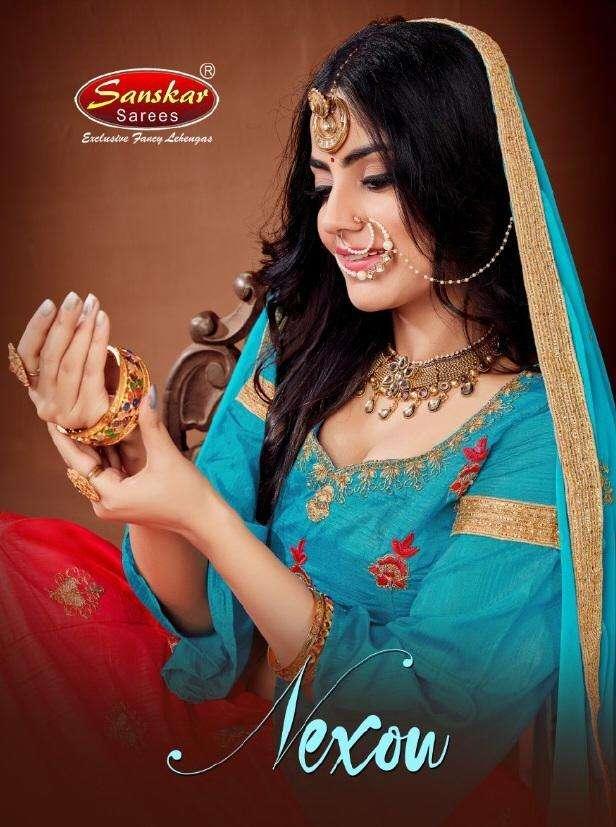 Sanskar Style Nexon Silk Fancy Indian Lehenga