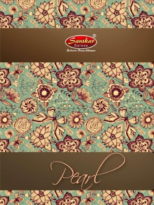 Sanskar Style Pearl Bahubali Silk Lehenga