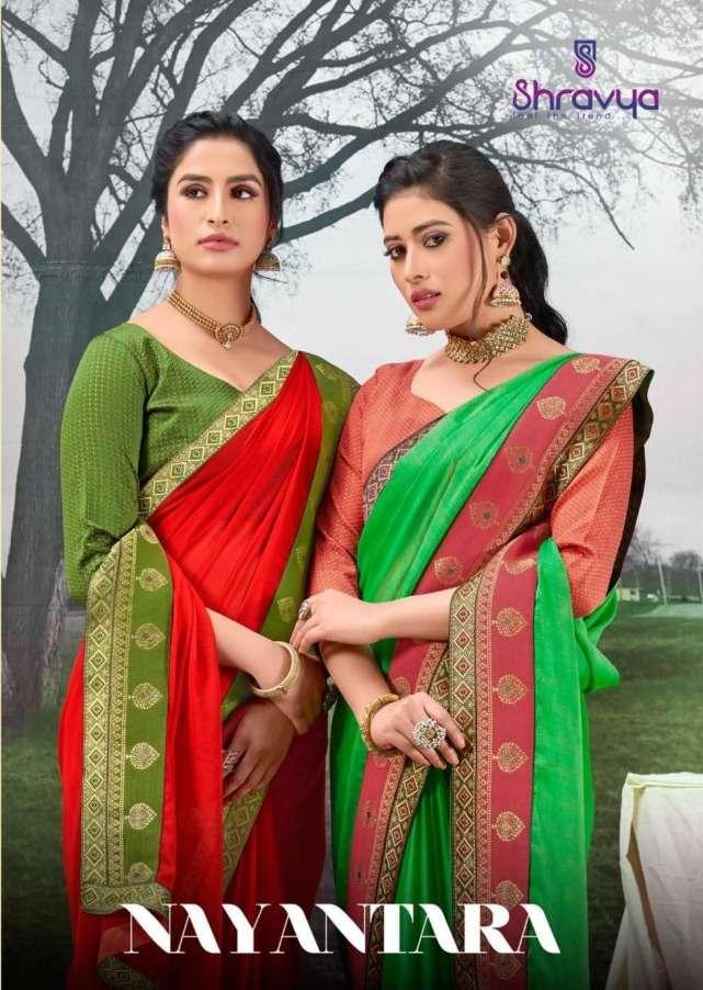 Shravya Nayantara Chiffon Silk Fancy Sarees