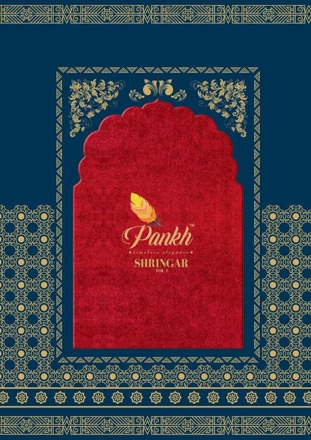 Shringar Vol 1 By Pankh Silk Classy Saree Wholesaler