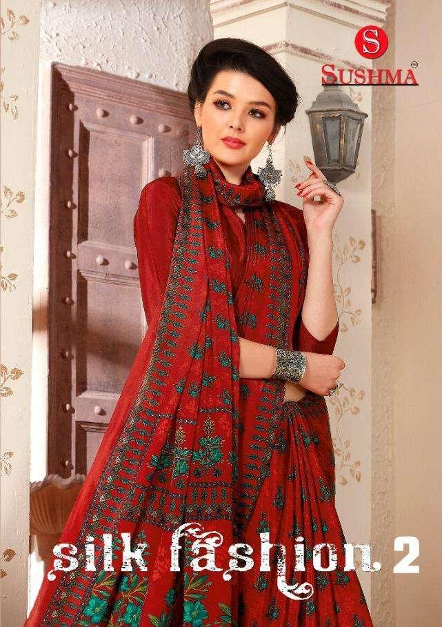 Silk Fashion Vol 2 By Sushma Crape Printed Fancy Saree