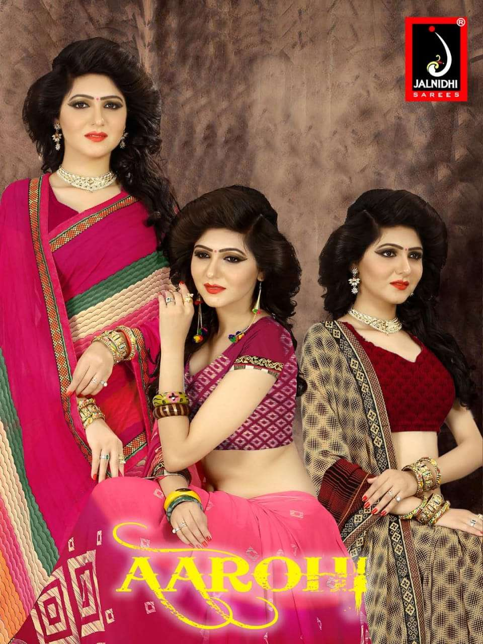 Aarohi By Jalnidhi Weightless Printed Saree Supplier