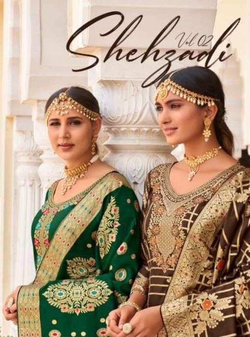 Amyra Shehzadi Vol 2 Silk Jacquard Designer Fancy Suits
