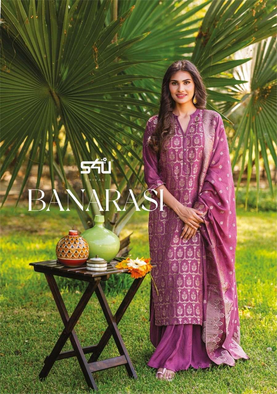 Banarasi By S4u Readymade Fancy Salwar Kameez