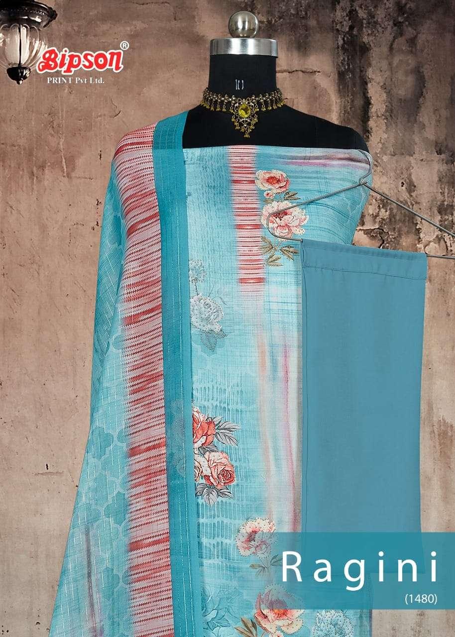 Bipson Ragini 1480 Cotton Satin Printed Dresses
