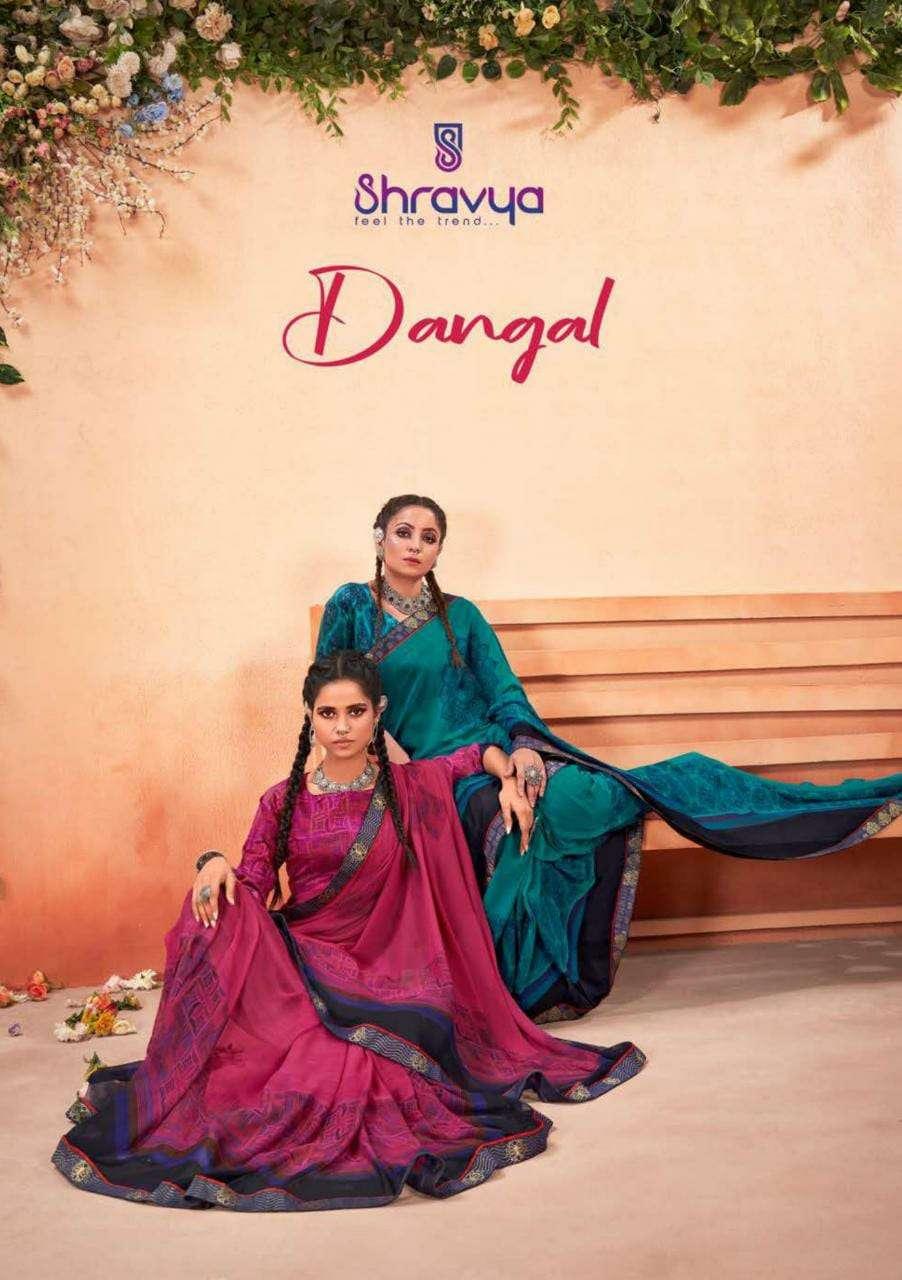 Dangal By Shravya Wholesale Saree Exports
