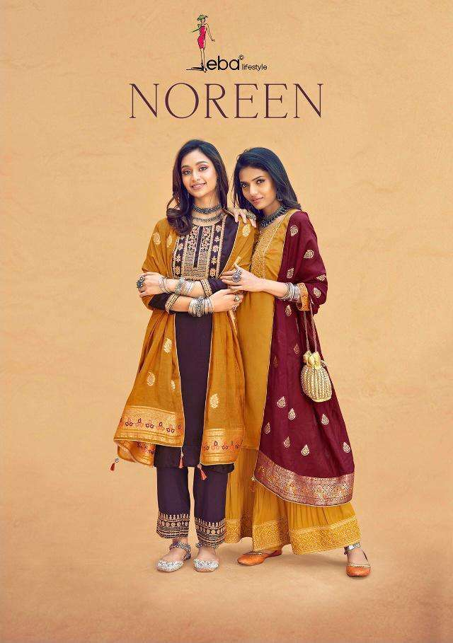 Eba Noreen Silk Designer Fancy Suits