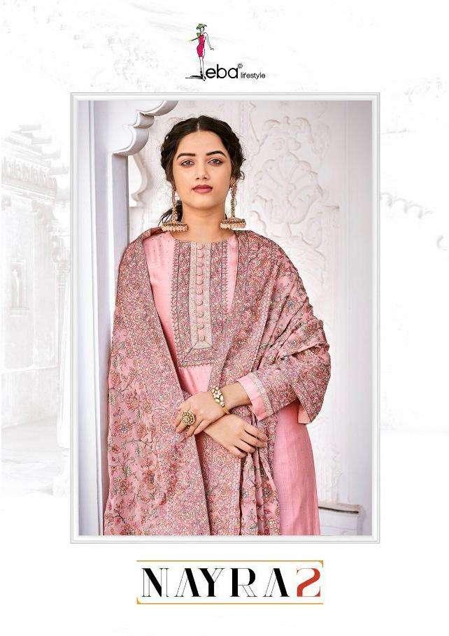 Eba Nyra Vol 2 Viscose Silk Designer Fancy Suits