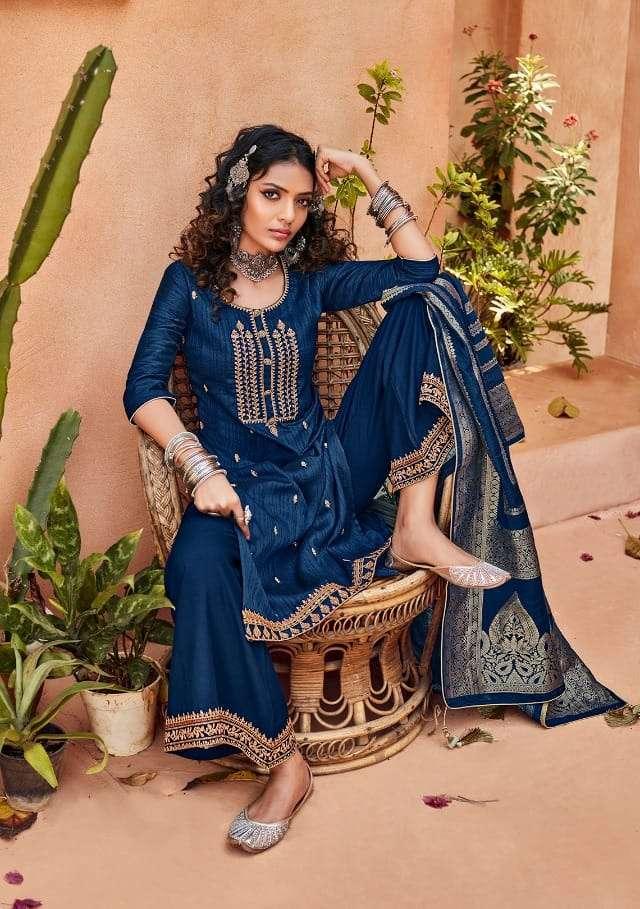 Eba Rangrej Silky Exclusive Fancy Salwar Kameez