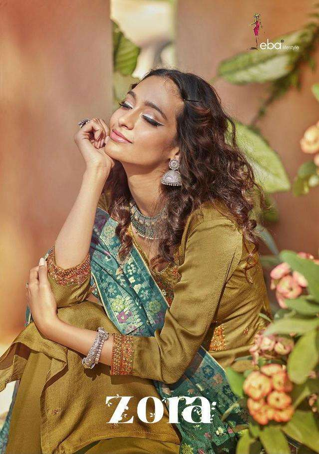 Eba Zora Silky Exclusive Fancy Suits Wholesaler