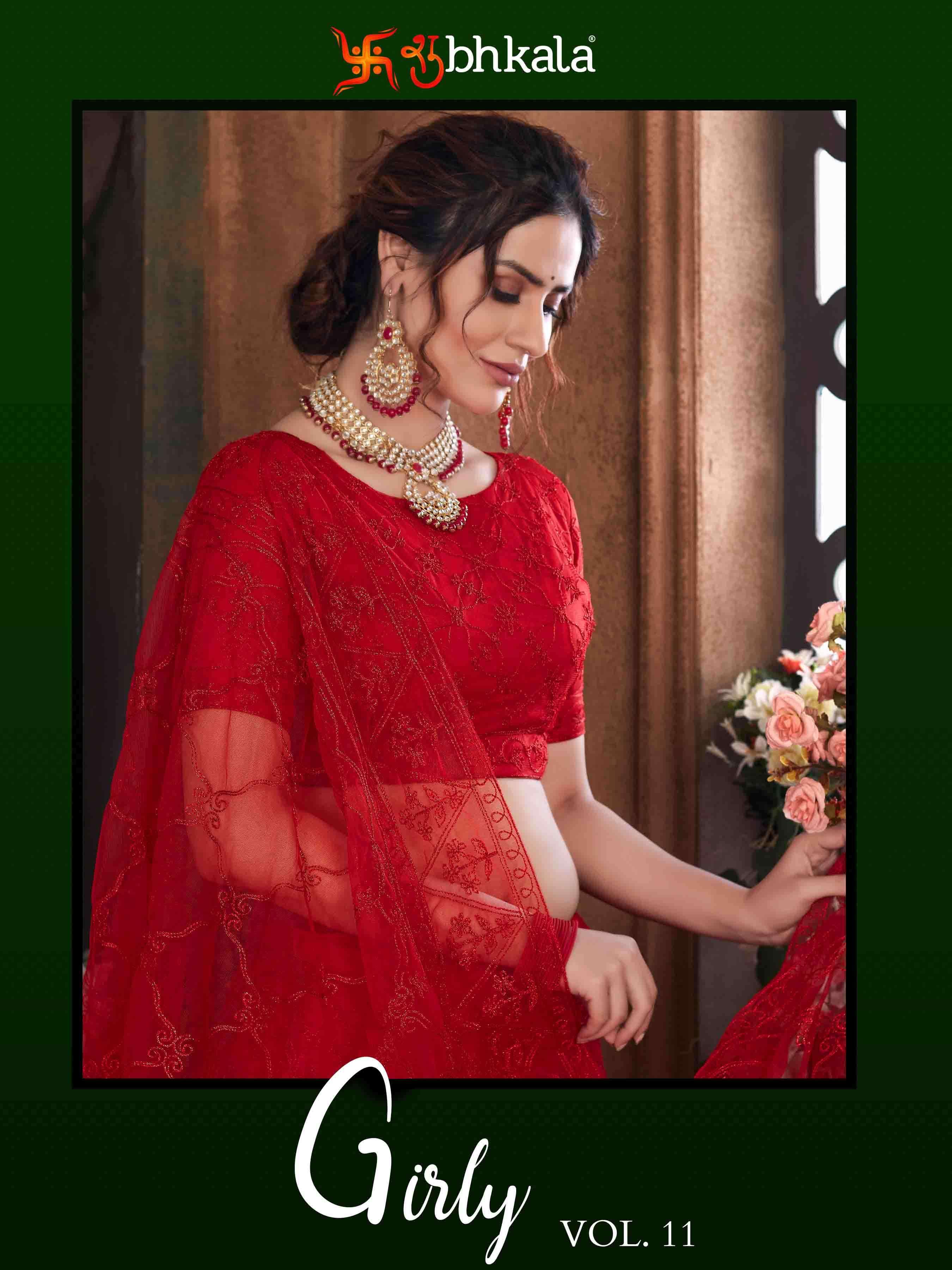 Girly Vol. 11 Exclusive Lehenga Choli Collection Of Shubhkala