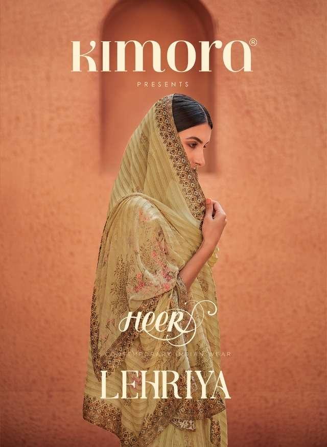 Heer Lehriya Vol 72 By Kimora Georgette Traditional Wear Suits
