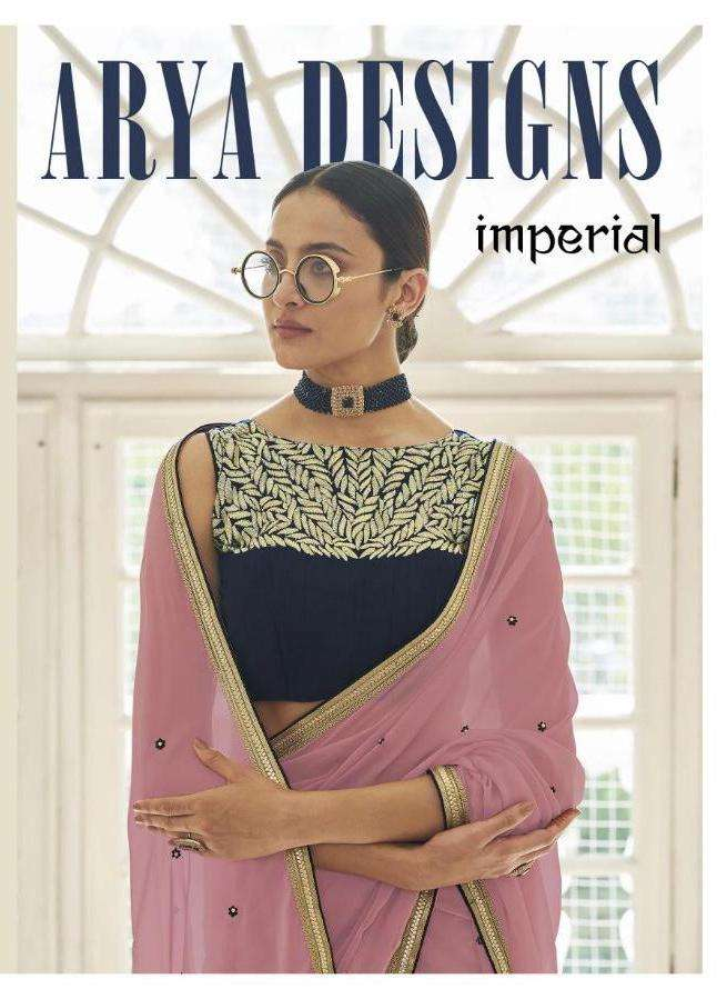Imperial By Arya Designer Fancy Saree Supplier