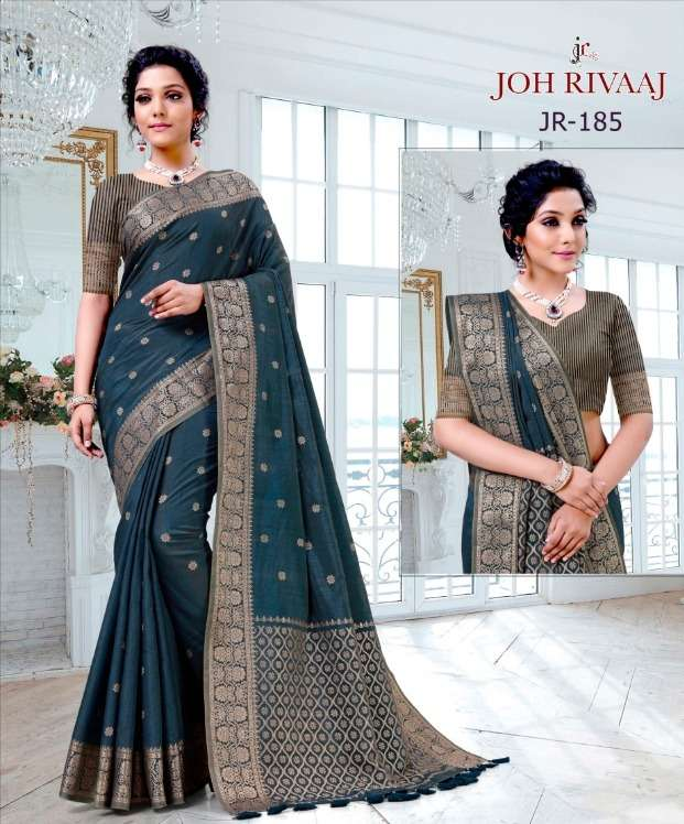 Joh Rivaaj 181-185 Series Art Silk Saree Exports