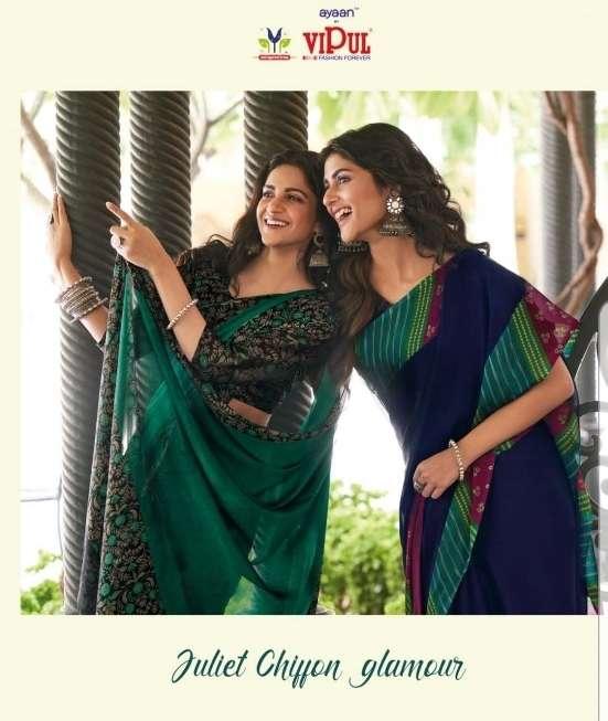 Juliet Chiffon Glamour By Vipul Fashion Saree Exports