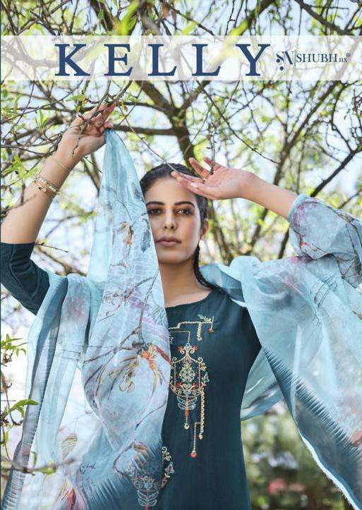 Kelly By Shubh Nx Readymade Fancy Salwar Kameez