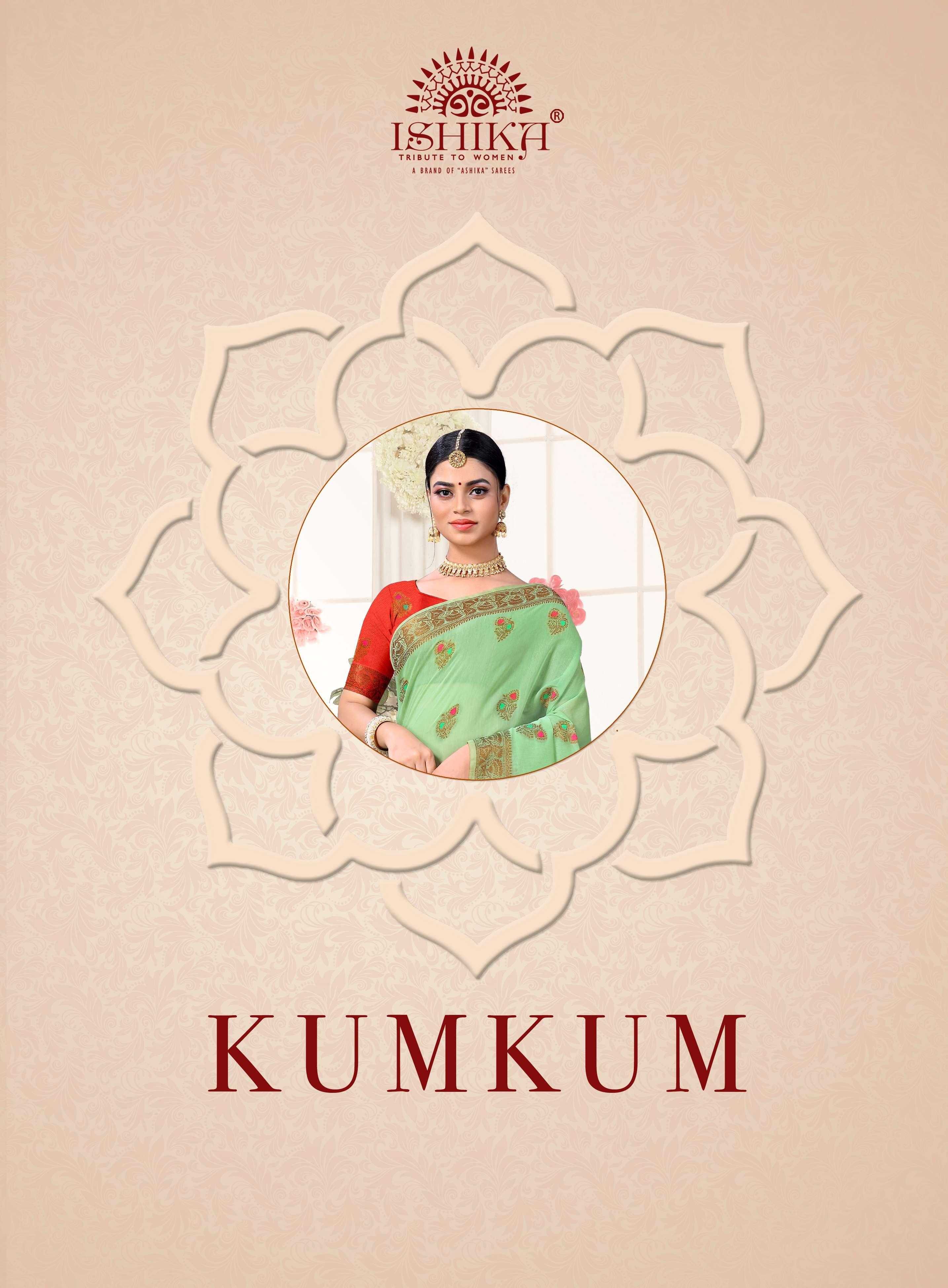 Kumkum By Ishika Saris Cotton Silk Saree Exports