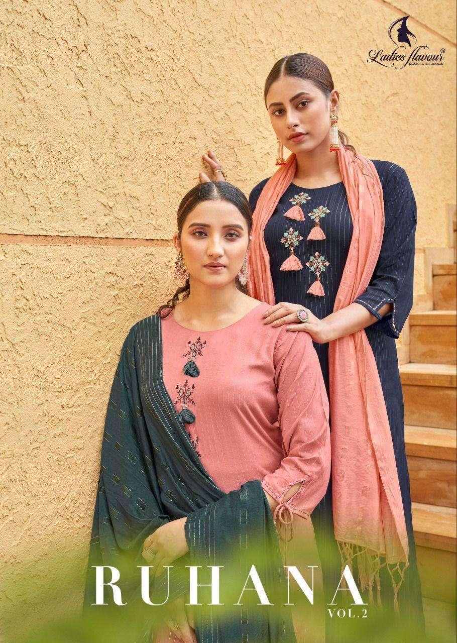 Ladies Ruhana Vol 2 Exclusive Fancy Readymade Suits