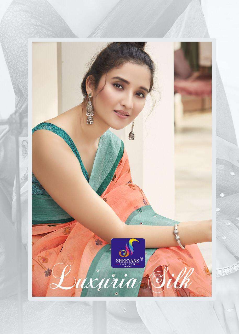 Luxuria Silk By Shreyans Fashion Authorized Supplier Of Saree