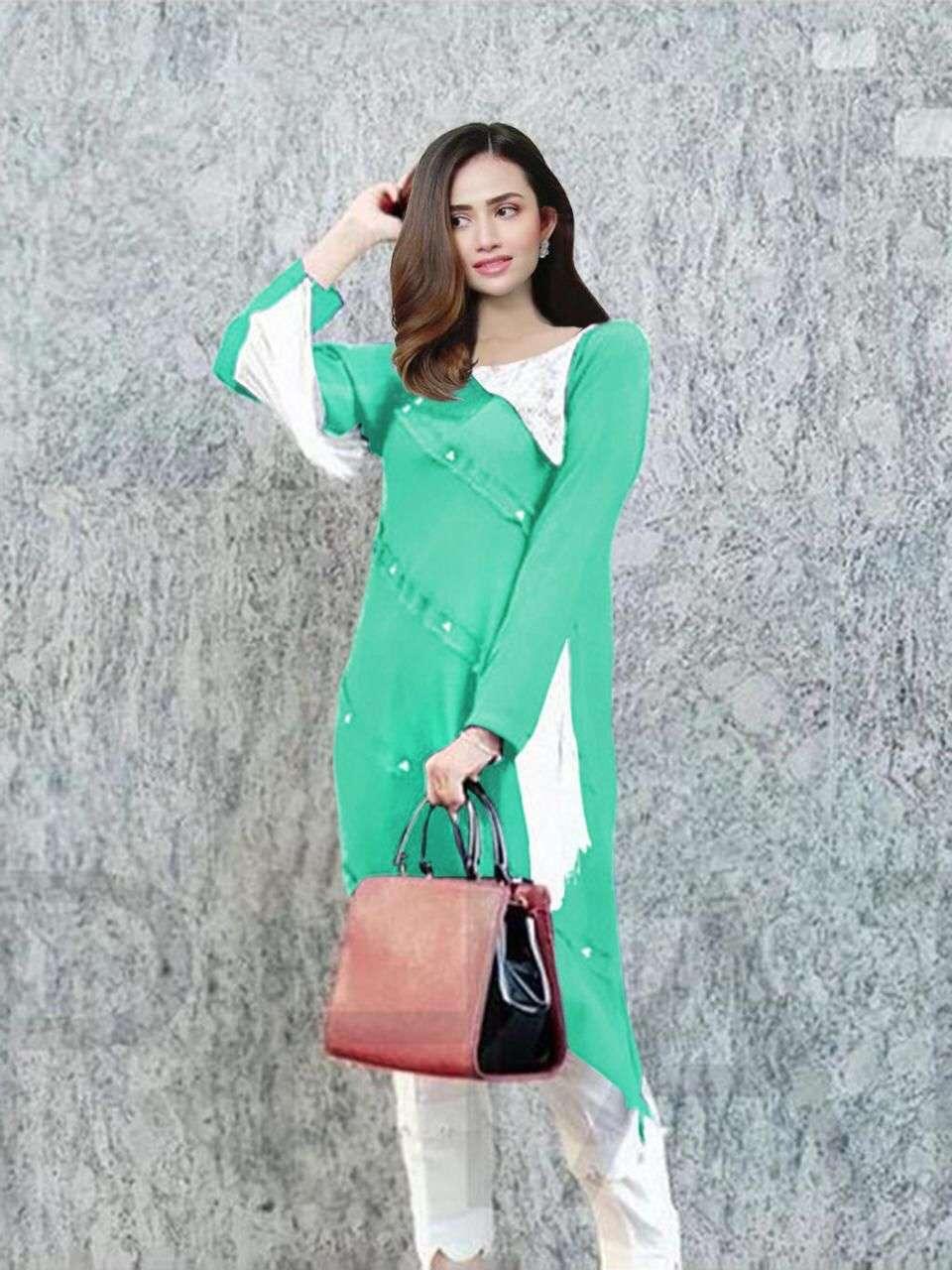 Luxuria Trendz 1120 Ethnic Wear Fancy Kurti With Bottom