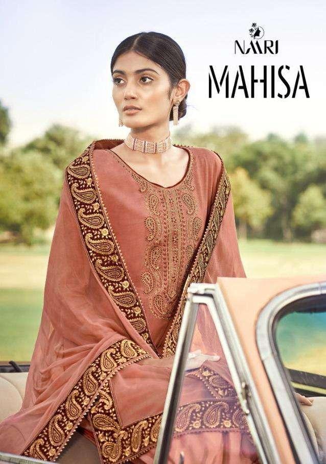 Mahisa By Naari Silk Work Fancy Suits Wholesaler