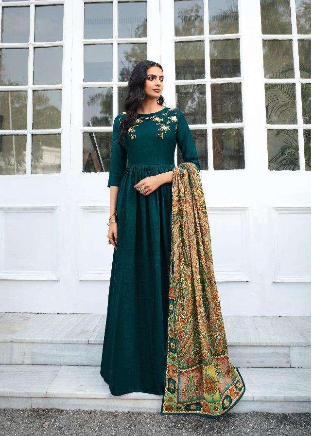 Masleen By Maskeen Long Fancy Salwar Kameez