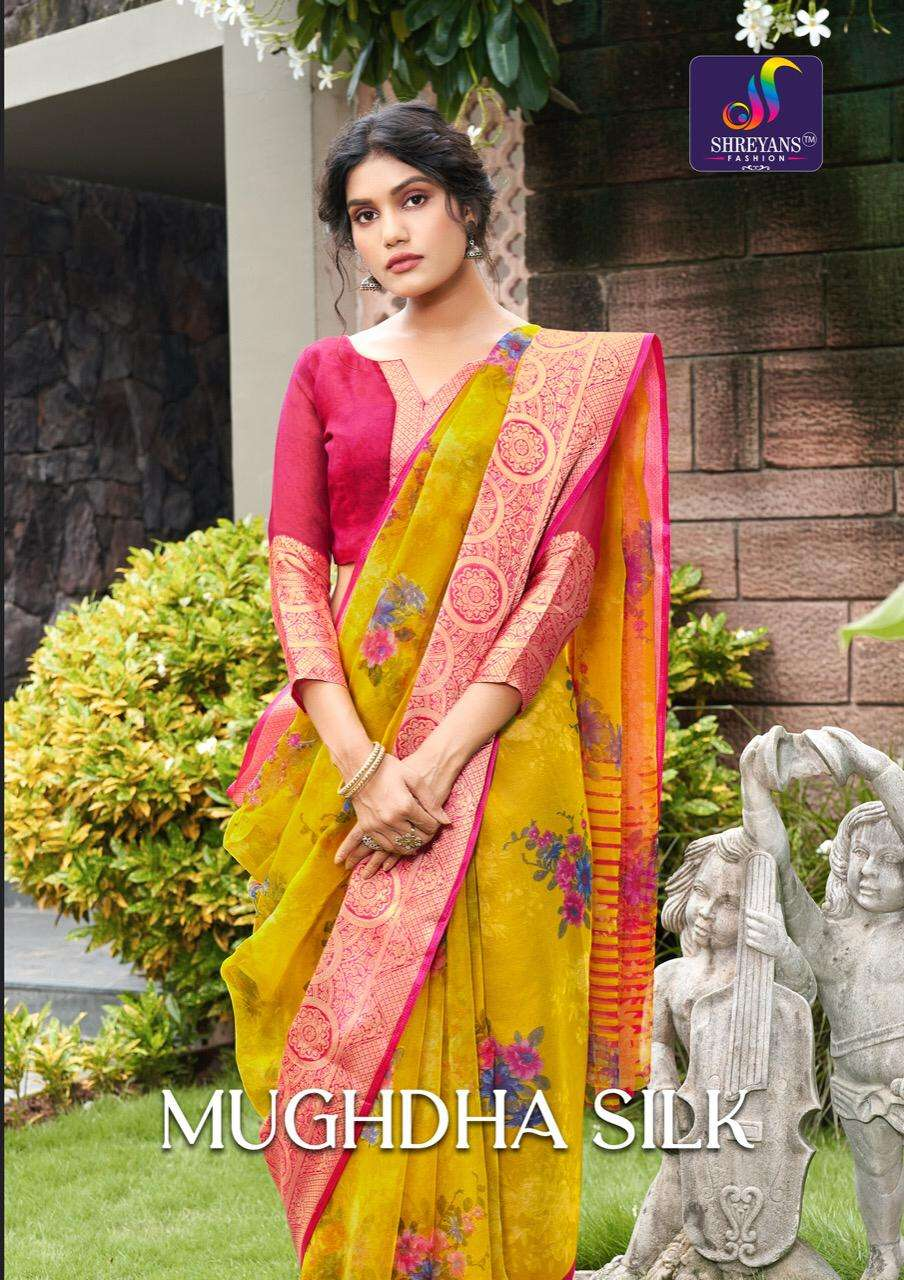 Mughdha Silk By Shreyans Fashion Surat Saree Exports
