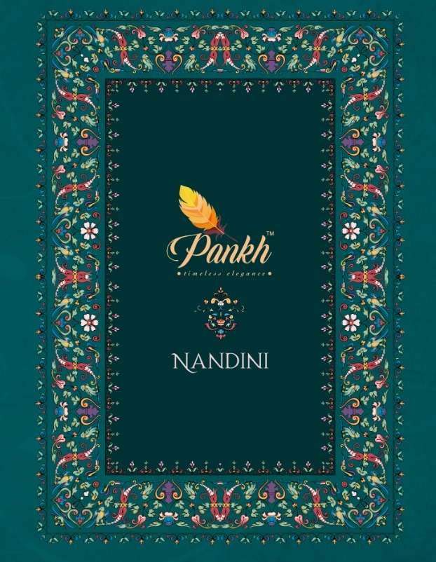 Nandini By Pankh Brasso Sarees Exports