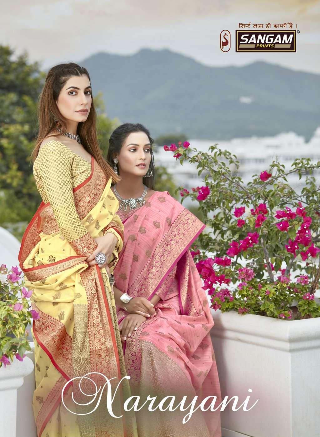 Narayani By Sangam Designer Handloom Cotton Sari Supplier