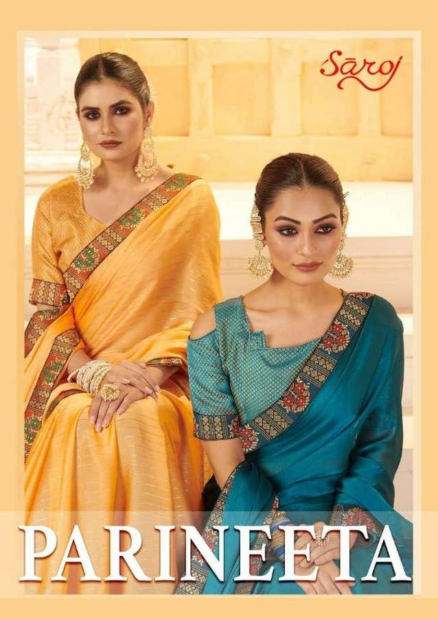Parineeta By Saroj Georgette Daily Wear Saree