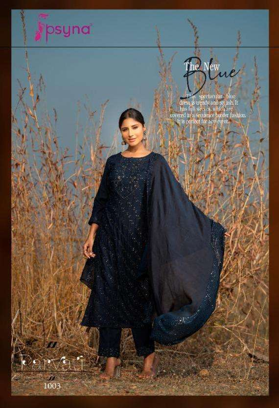 Parvati By Psyna Rayon Designer Readymade Suits