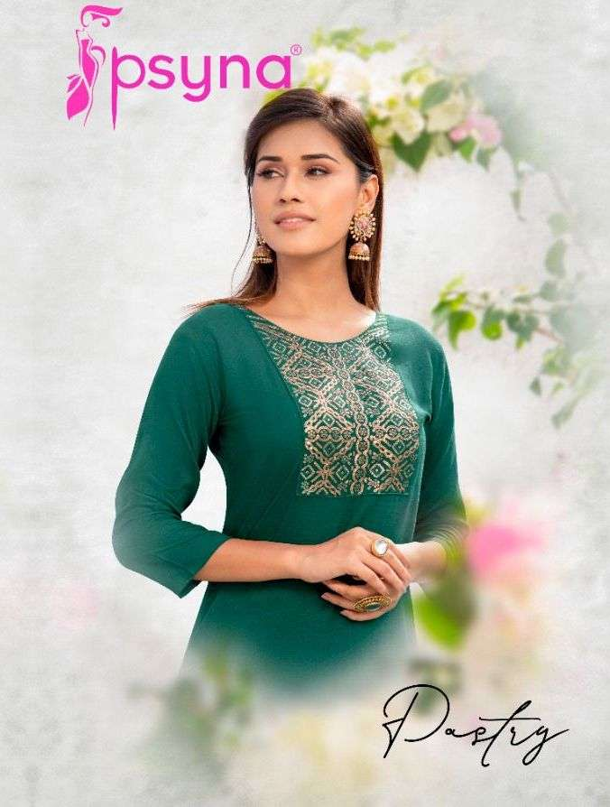 Pastry Vol 2 By Psyna Branded Kurti Exports