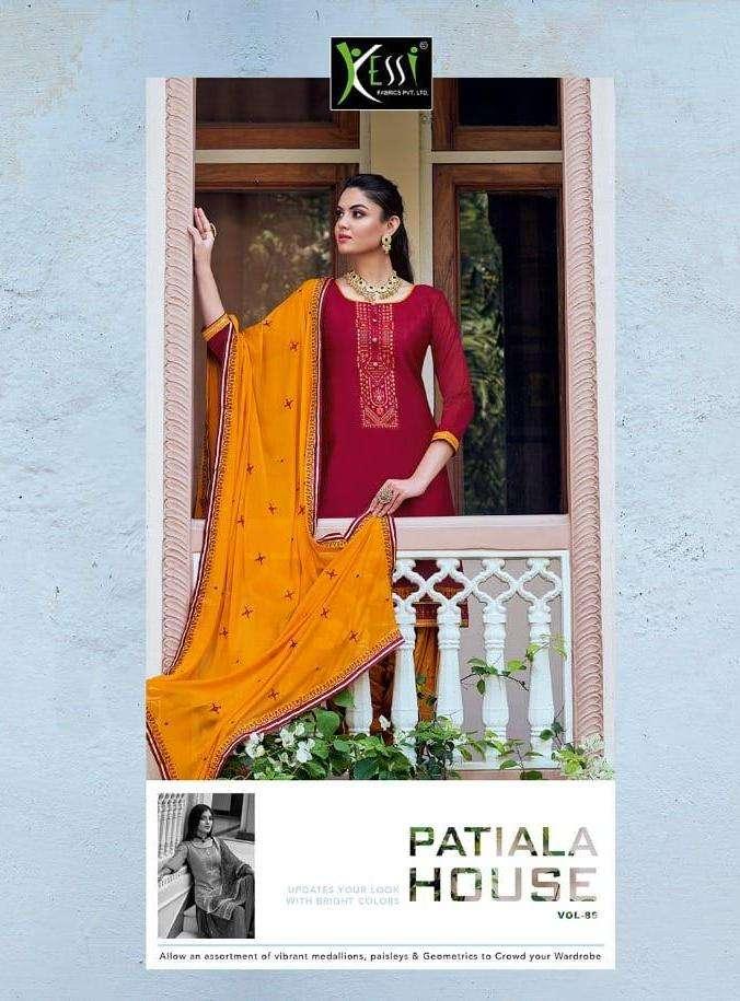 Patiyala House Vol 85 By Kessi Jam Silk Fancy Salwar Kameez
