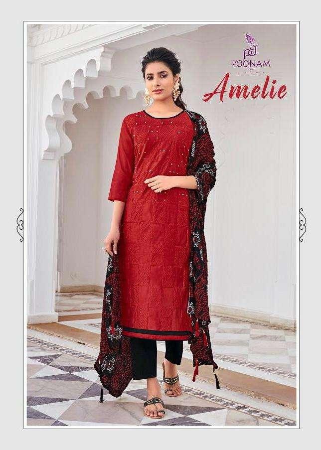 Poonam Amelie Daily Wear Fully Stitch Salwar Kameez