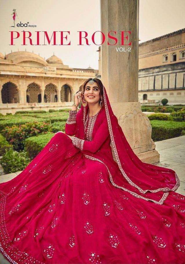 Prime Rose Vol 2 By Eba Georgette Exclusive Fancy Suits