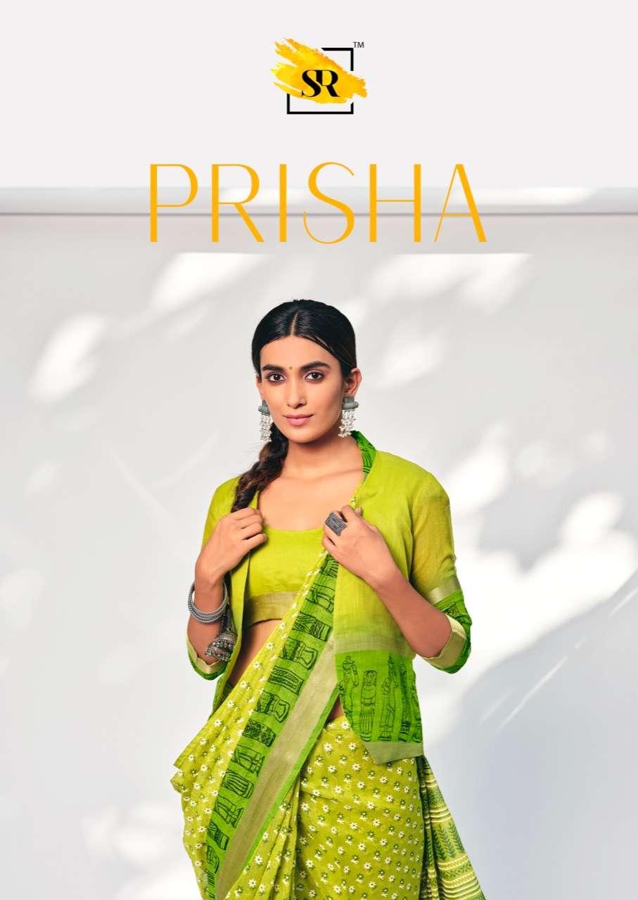 Prisha By Sr Cotton Soft Casual Waer Saris Exports
