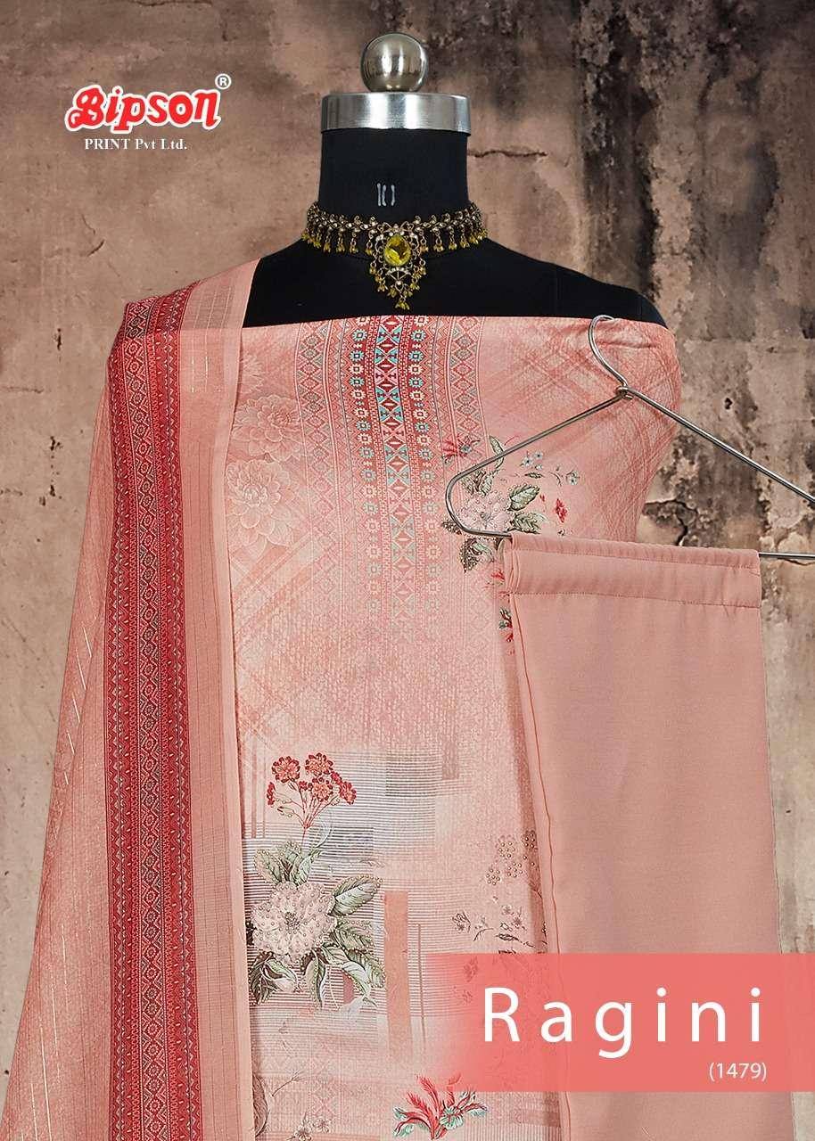 Ragini 1479 By Bipson Cotton Satin Fancy Dresses