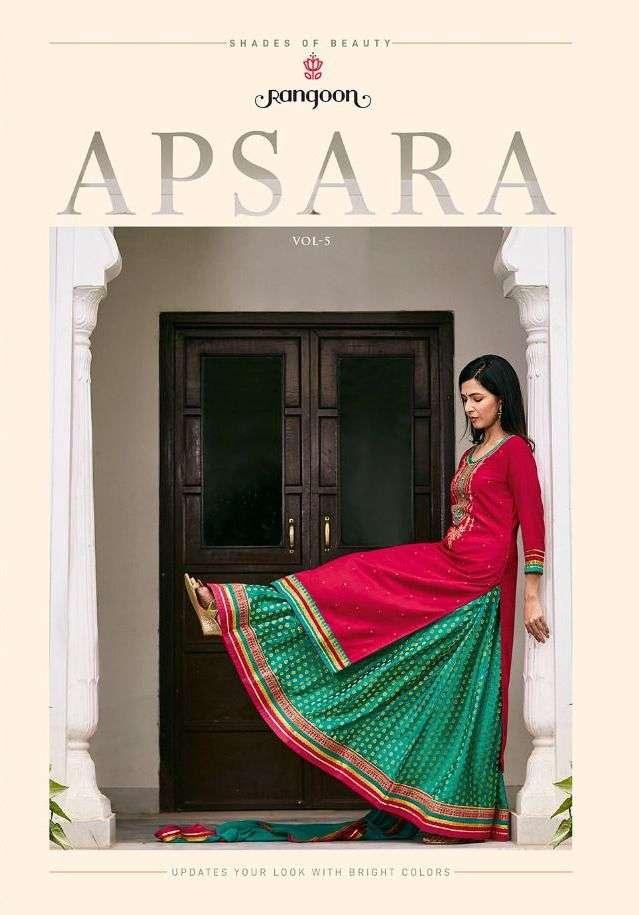 Rangoon Apsara Vol 5 Readymade Exclusive Fancy Suits