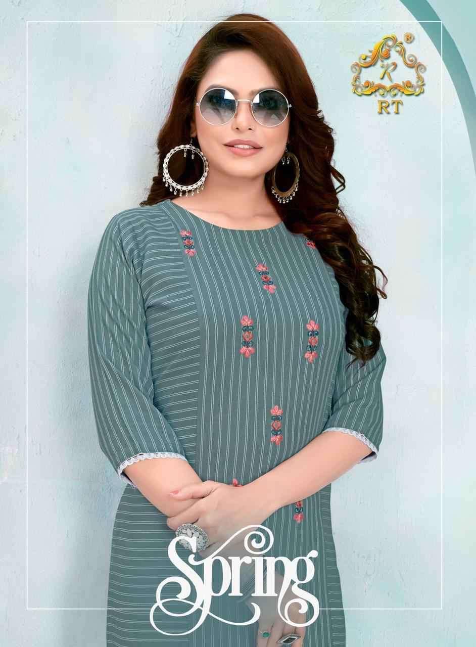 Readymade Designer Kurti With Pant SPRING By Rijiya Trends