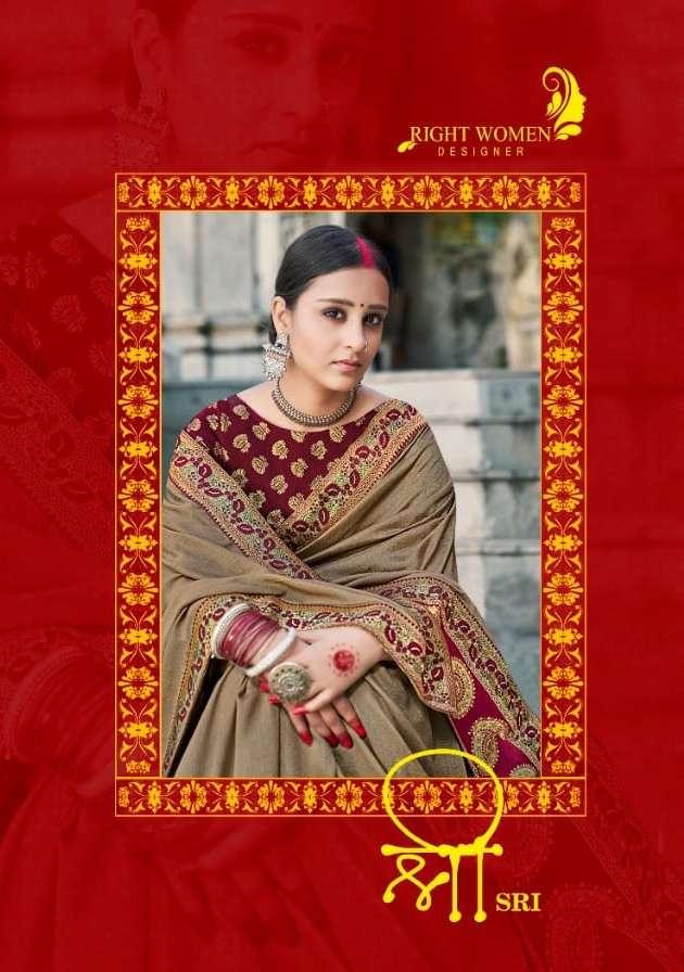 Right Women Sri Vichitra With Jacquard Fancy Saree