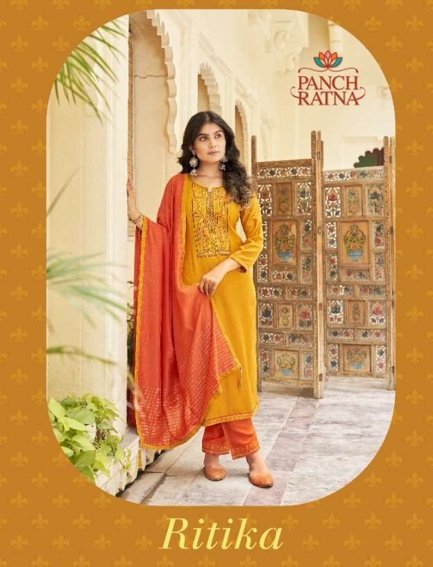 Ritika By Panch Ratna Wholesale Dress Supplier