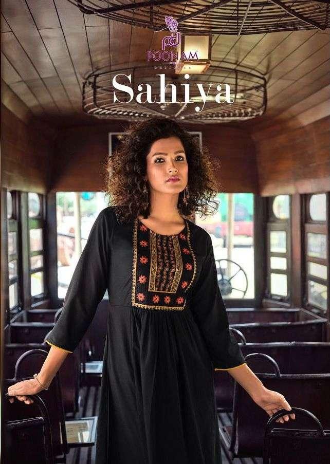 Sahiya By Poonam Designer Long Kurti Exports