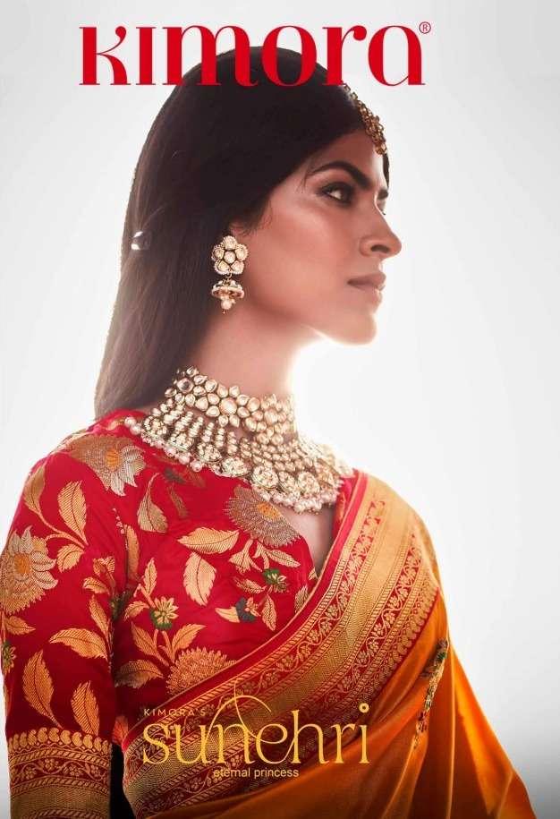Sunehri Vol 15 By Kimora Fashion Silk Saree Exporter
