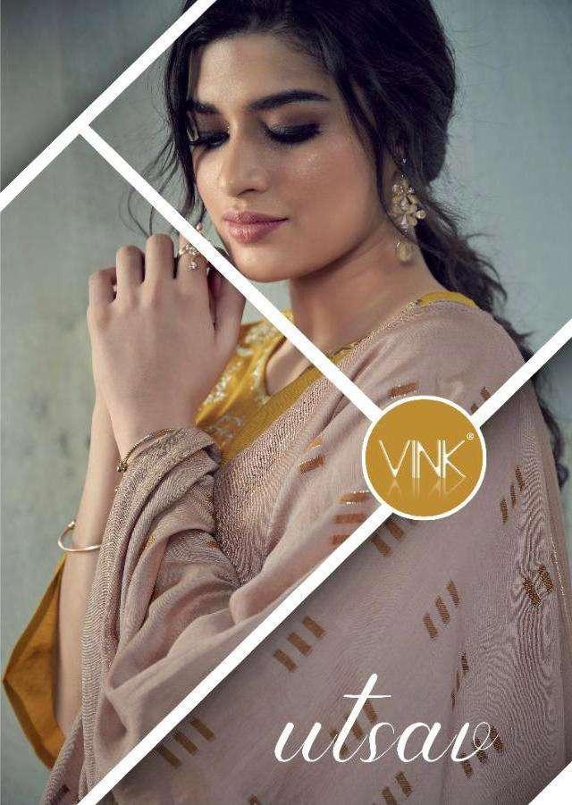 Utsav By Vink Readymade Designer Fancy Salwar Kameez