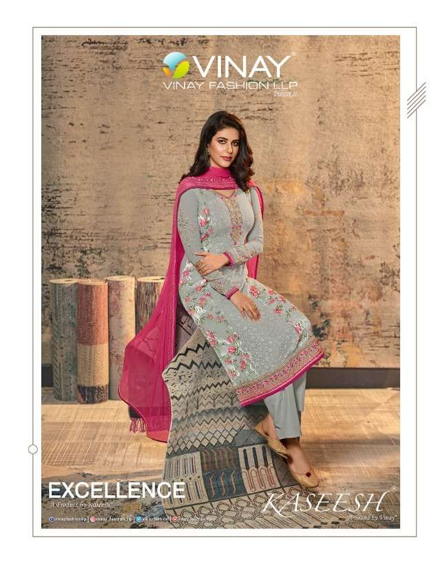 Vinay Excellence Ethnic Party Wear Brasso Salwar Suits